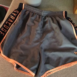 PINK Shorts - Victoria Secret PINK Syracuse Athletic Shorts-S
